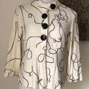 Alberto Makali embroidered jacket